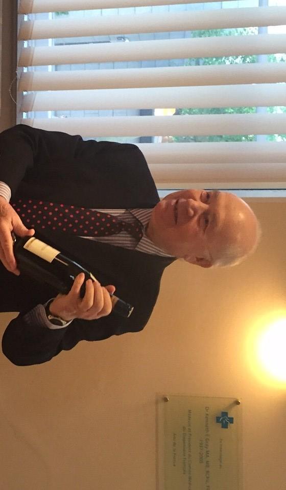 Bernard Jantet a quitté le Trust du DF-SFB le 12 mai 2015