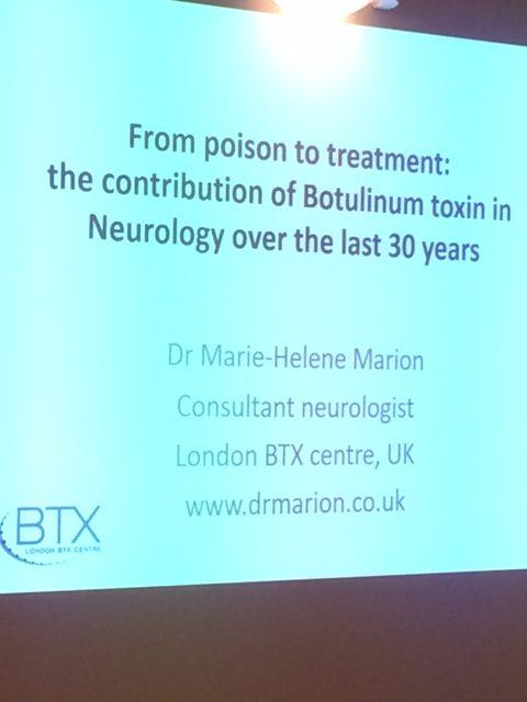 Dispositive : Société clinique - De poison à traitement : la contribution de la toxine Botulique en neurologie au cours des 30 dernières années.